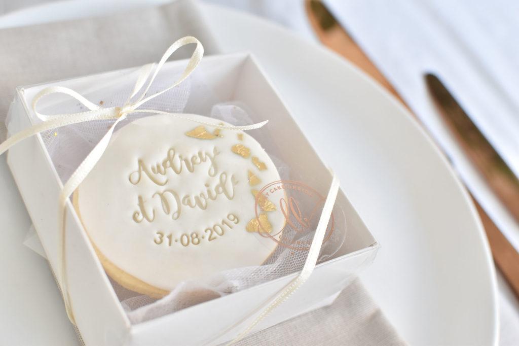 gateau mariage var wedding cake provence biscuit personnalisé