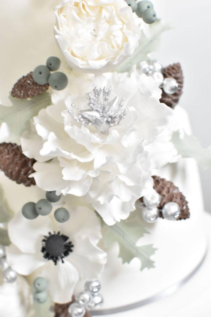 gateau mariage var wedding cake provence fleurs sucre