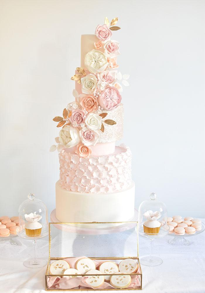 gateau mariage var wedding cake luxe table dessert